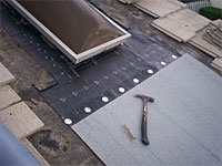 Roof Repair Underlayment